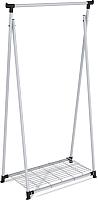 Стойка для одежды Sheffilton SHT-WR10 (серый/черный) -
