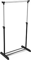 Стойка для одежды Sheffilton SHT-WR4340 (черный/хром) -