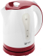 Электрочайник Home Element HE-KT156 (белый/красный) -