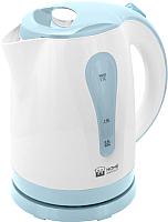 Электрочайник Home Element HE-KT156 (белый/синий) -