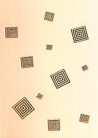 Декоративная плитка Березакерамика Стиль оранжевый (250x350) -