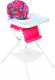 Стульчик для кормления Дэми КДС.03 (белый/розовый) -