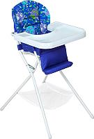 Стульчик для кормления Дэми КДС.03 (белый/синий) -