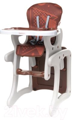 Стульчик для кормления 4Baby Fashion (коричневый)