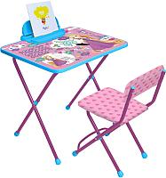 Стол+стул Ника Д1Р-М Disney 1 Рапунцель -