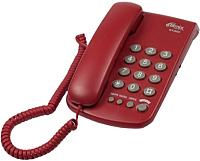 Проводной телефон Ritmix RT-350 (вишневый) -