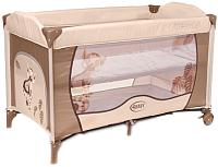 Кровать-манеж 4Baby Vegas (бежевый) -