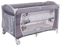 Кровать-манеж 4Baby Vegas (серый) -