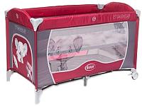 Кровать-манеж 4Baby Vegas (красный) -