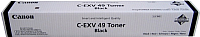 Тонер-картридж Canon C-EXV49BK (8524B002) -
