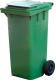 Контейнер для мусора Титан Мета 120л (зеленый) -