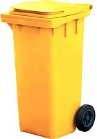 Контейнер для мусора Титан Мета 120л (желтый) -