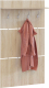 Вешалка для одежды Сокол-Мебель ВШ-3.1 (дуб сонома) -