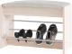 Тумба для обуви Сокол-Мебель ТП-5 (беленый дуб) -