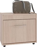 Тумба для обуви Сокол-Мебель ТП-6 (беленый дуб) -