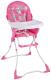 Стульчик для кормления Lorelli Candy Pink Snail (10100211716) -