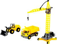 Набор игрушечных автомобилей Полесье Агат 57150 -