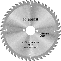 Диск пильный Bosch Optiline Eco 2.608.641.790 -