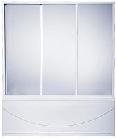 Пластиковая шторка для ванны BAS 180x145 (3 створки) -