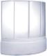 Пластиковая шторка для ванны BAS Вектра 150x90 -