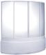 Пластиковая шторка для ванны BAS Алегра 150x90 -