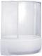 Пластиковая шторка для ванны BAS Фэнтази 150x88 -