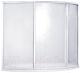 Пластиковая шторка для ванны BAS Флорида 160x88 -