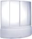 Пластиковая шторка для ванны BAS Лагуна 170x110 -