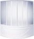 Пластиковая шторка для ванны BAS Хатива 143x143 -