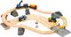 Железная дорога детская Brio Дорога с автодорогой 33210 (переездом и мостом) -