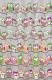 Текстильная шторка для ванной Milardo 530V180M11 -