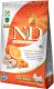 Корм для собак Farmina N&D Grain Free Pumpkin Codfish & Orange Adult Mini (2.5кг) -