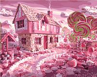 Картина по номерам Menglei Карамельный город (MG561) -