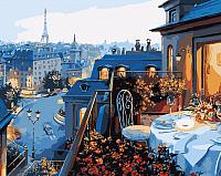 Картина по номерам Menglei Ужин в Париже (MG1107) -