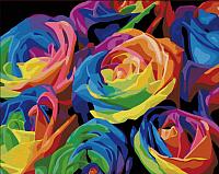 Картина по номерам Menglei Розы (MG001) -