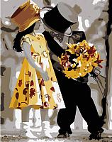 Картина по номерам Menglei Жених и невеста (MG225) -