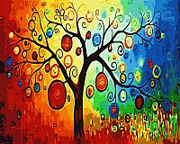 Картина по номерам Menglei Дерево богатства (MG230) -
