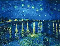 Картина по номерам Menglei Звездная ночь на Роной (MMC056) -