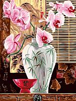 Картина по номерам Picasso Розовые орхидеи (PC3040034) -