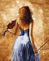 Картина по номерам Picasso Скрипачка (PC4050023) -