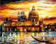 Картина по номерам Picasso Золотое небо Венеции (PC4050078) -