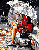Картина по номерам Picasso Размышления под дождем (PC4050096) -
