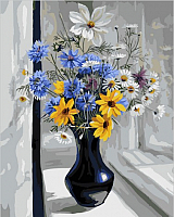 Картина по номерам Picasso Букет на окне (PC4050102) -