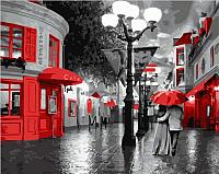 Картина по номерам Picasso Улица в красных красках (PC4050109) -