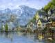 Картина по номерам Picasso У подножия гор (PC4050142) -
