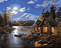 Картина по номерам Picasso Хижина рыбака (PC4050143) -