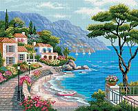 Набор алмазной вышивки Picasso Средиземноморский залив (PD4050014) -