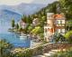 Картина по номерам Picasso Вилла на берегу залива (PC4050116) -