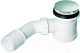 Сифон для душевого поддона McAlpine HC26-SS -