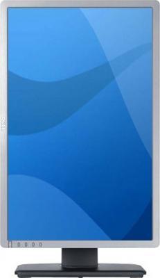 Монитор Dell P2213 Silver - фронтальный вид (поворот экрана)